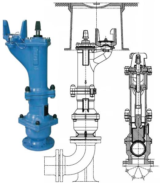 Podzemní hydrant - Uherské Hradiště