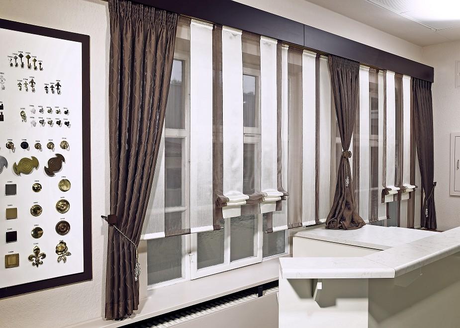 návrhy záclon a závěsů do interiéru Zlín