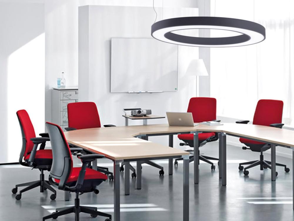 Multiline 111 tvarovaná svítidla pro kanceláře, interiéry-výroba