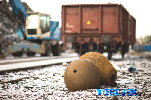 Trojek, a.s. výkup, prodej a zpracování kovového odpadu
