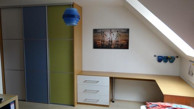 Dětský nábytek na míru, dětský pokoj, truhlářství Ivančice
