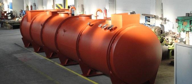 Technologické zařízení pro chemický průmysl