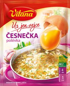 Polévky Vitana – polévky bez glutamátů a konzervačních látek, výběr z mnoha druhů