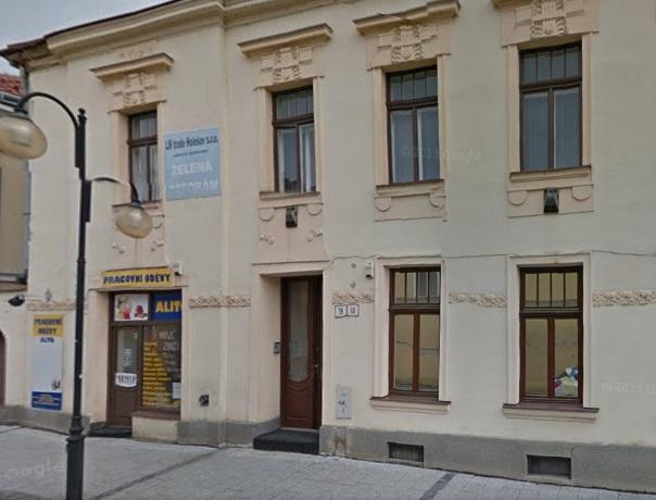 Provozovna firmy LM trade Holešov