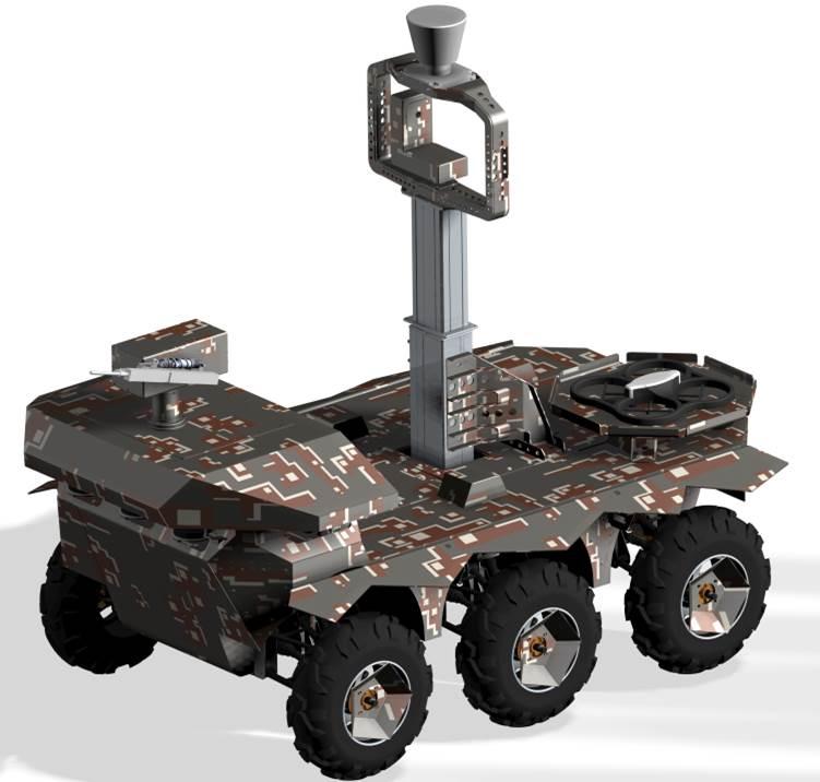 Robotické pozemní systémy pro armádu - vývoj a výroba