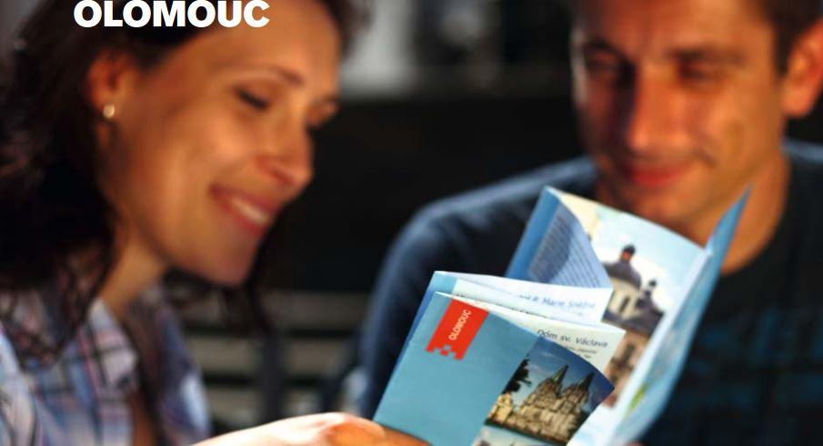 Využijte služby průvodce či informační materiály, abyste poznali všechny krásy Olomouce