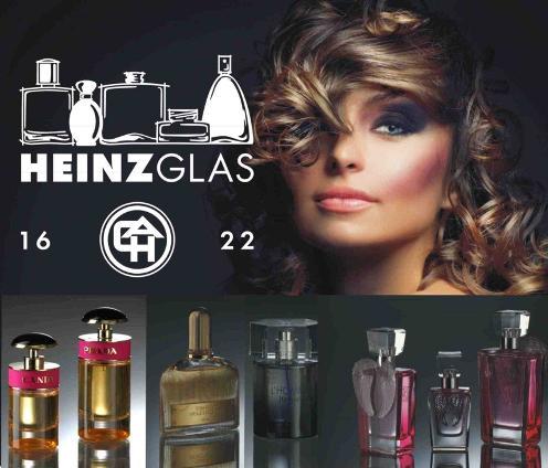 Heinz Glas Decor, dekorování skla a skleněných parfémových flakonů
