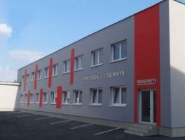 Prodejna firmy NOSRETI v Ostravě-Mariánských Horách