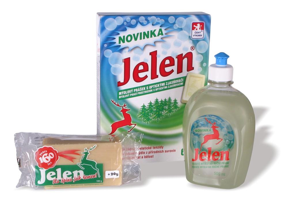 Spolpharma; Kvalitná česká kozmetika aj mydlo s jeleňom, Česká republika
