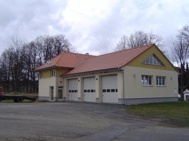 Novostavba hasičské zbrojnice Benešov nad Černou