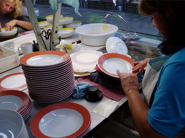 Dekorování porcelánu a skla semišem – Welldeco, Tachov