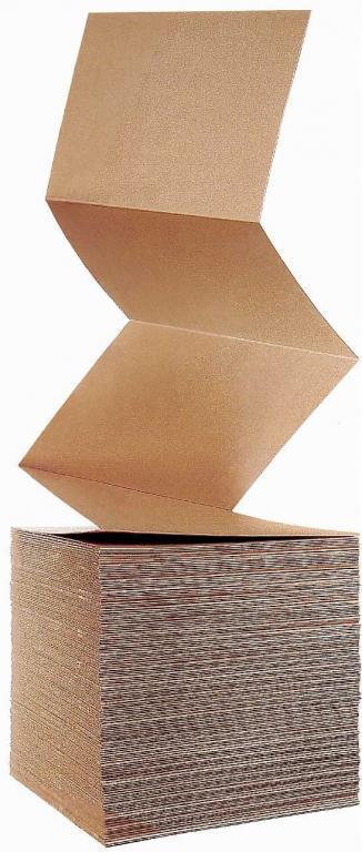 Skladaný kartón, lepenkové preklady, lepenka dvojvrstvová vlnitá, v rolkách - výroba, predaj