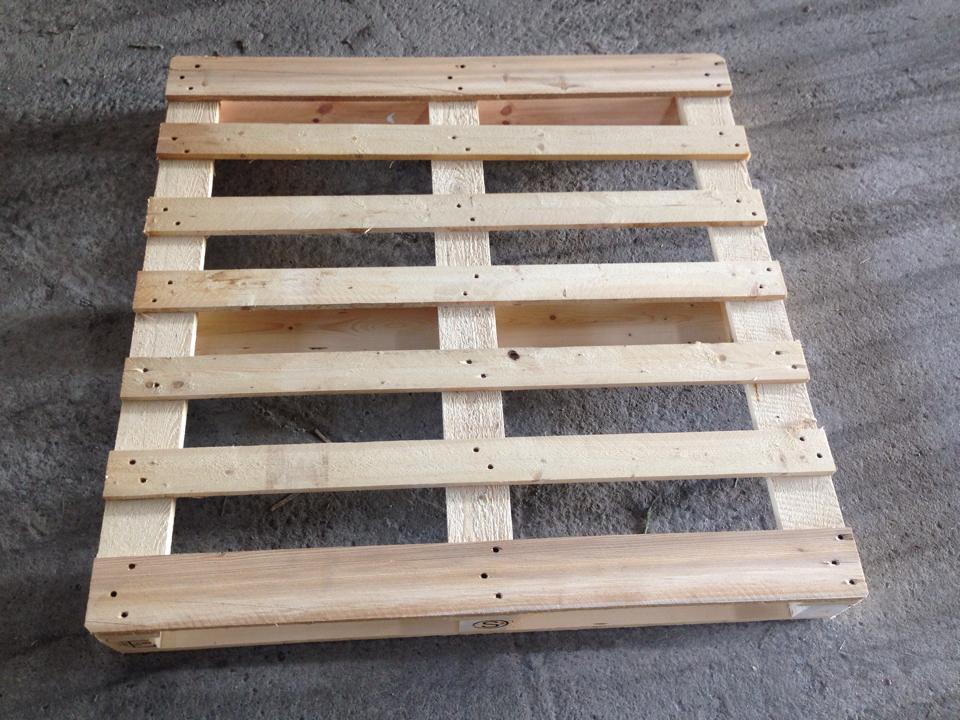 Výroba dřevěných palet, dřevěných obalů