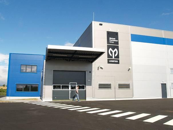 Logistické centrum MP Group Logistics Center v Domažlicích