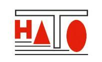 Logo firmy HATO, která se specializuje na hutní materiál