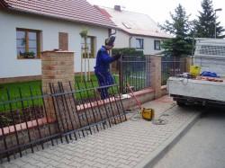 Výroba ocelových plotů - Jičín