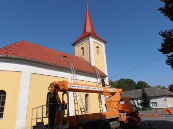 Oplechování střechy, okapové systémy-specializované klempířství