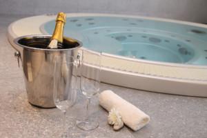 Privátní wellness, vířivka, sauna Zlín-pronájem pro páry, firemní akce