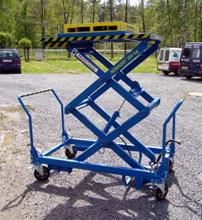 Zdvihací plošiny a přepravní vozíky Chotěboř