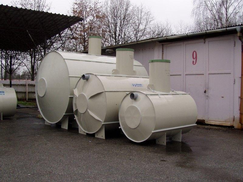 Nádrže na dešťovou vodu Nautilus na míru pro zavlažování, splachování i praní