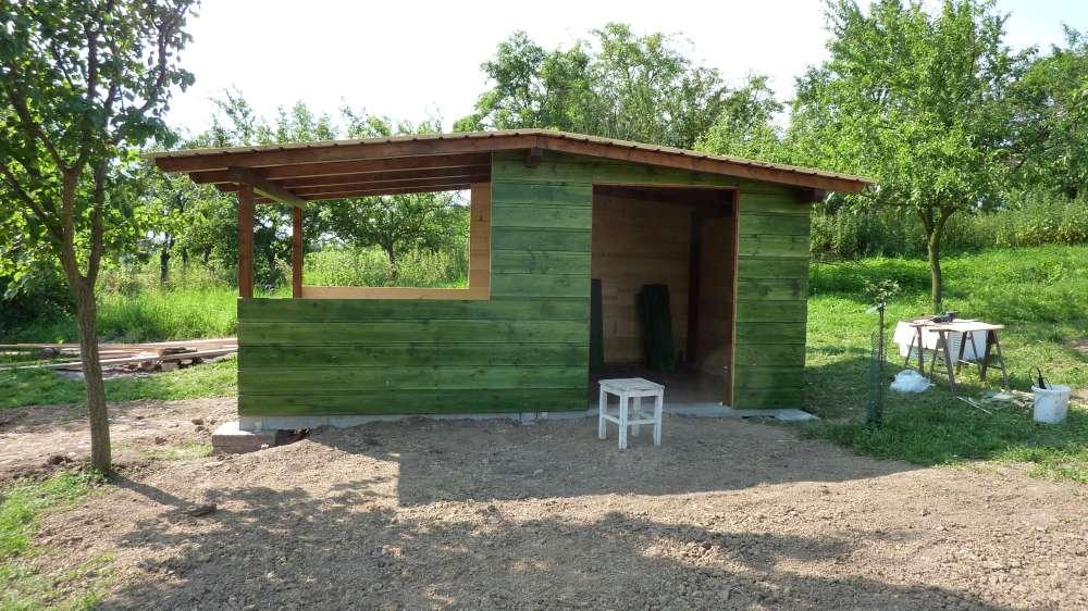 zahradní domek, chata