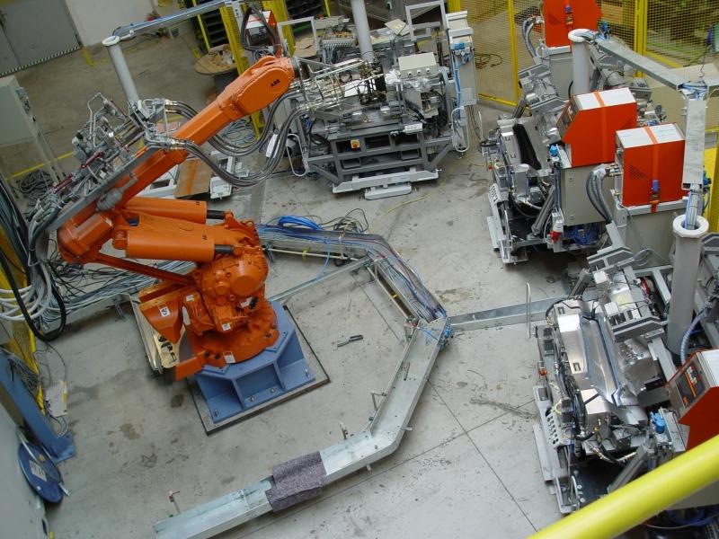 Robotizované pracoviště pro manipulaci