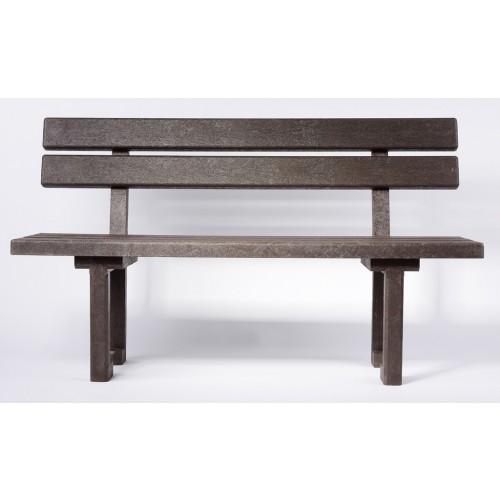 Praktická lavička s opěradlem