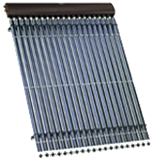Solární systém s kolektorem Vitosol 300-T pro krytinu z vlnových tašek - akce
