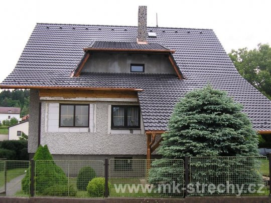 Kvalitní střechu nad hlavou Vám zajistí firma MK Střechy s.r.o.