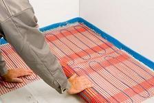 Podlahové elektrické topení RAYCHEM - T2Quicknet - Samolepící topná rohož pro podlahové topení