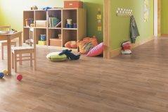 PVC podlahy - imitace dlažby