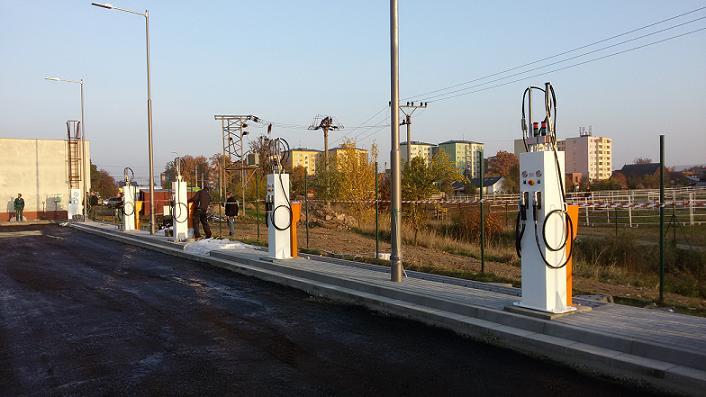 Spotřební materiál pro technologii bezobslužných čerpacích stanic Znojmo
