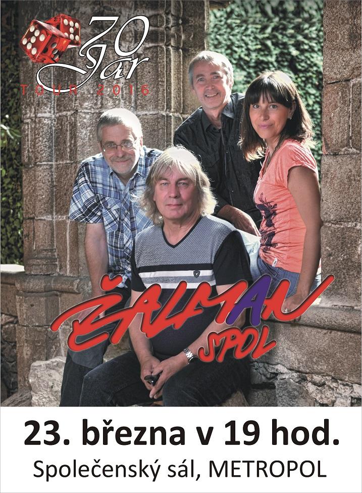 """Žalman & spol. """"70 JAR"""" – výjimečný jubilejní koncert, České Budějovice"""