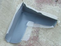 Hydroizolační páska pro vnější rohy