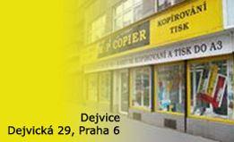 Reprografické služby Praha 6 - kopírování, tisk, skenování i laminování