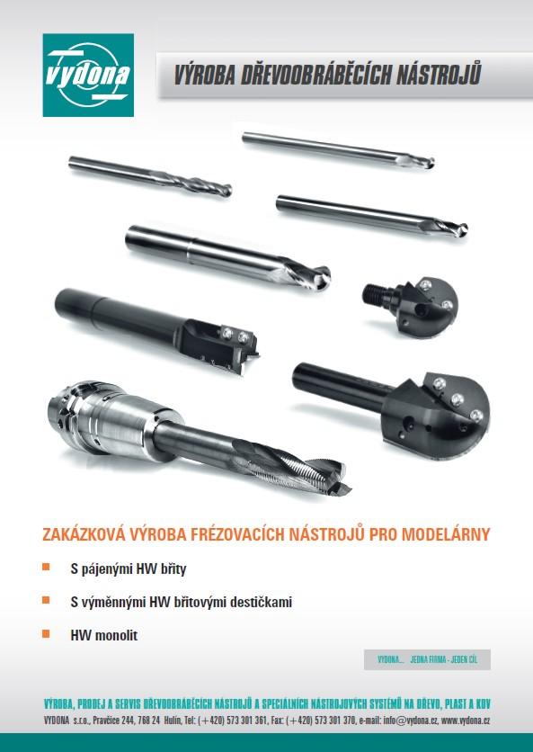 výroba dřevoobráběcích nástrojů pro modelárny