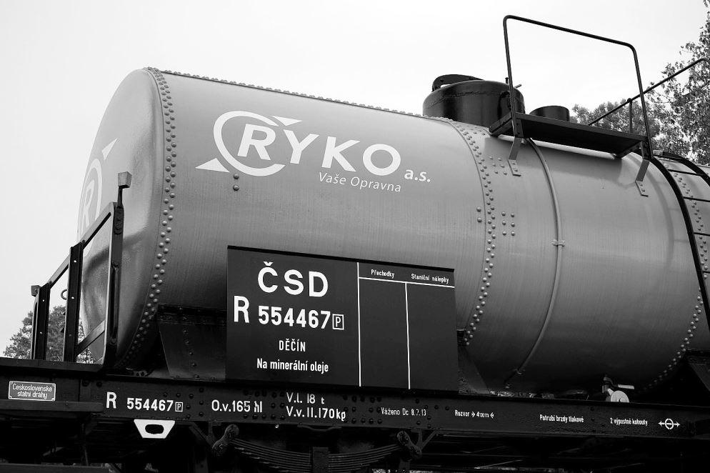 Modernizace železničních nákladních vozů Děčín - rekonstrukce nákladních vlaků