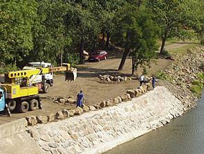 Výstavba vodovodních toků Chomutov - vodohospodářské stavby