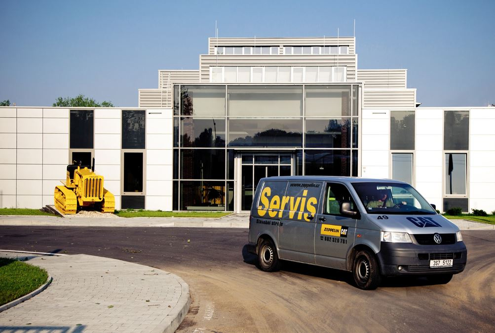 Servisní služby nových i použitých stavebních a zemědělských strojů Zeppelin Praha