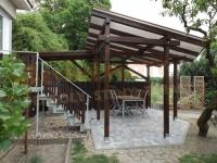 Výroba a montáž dřevěných pergol