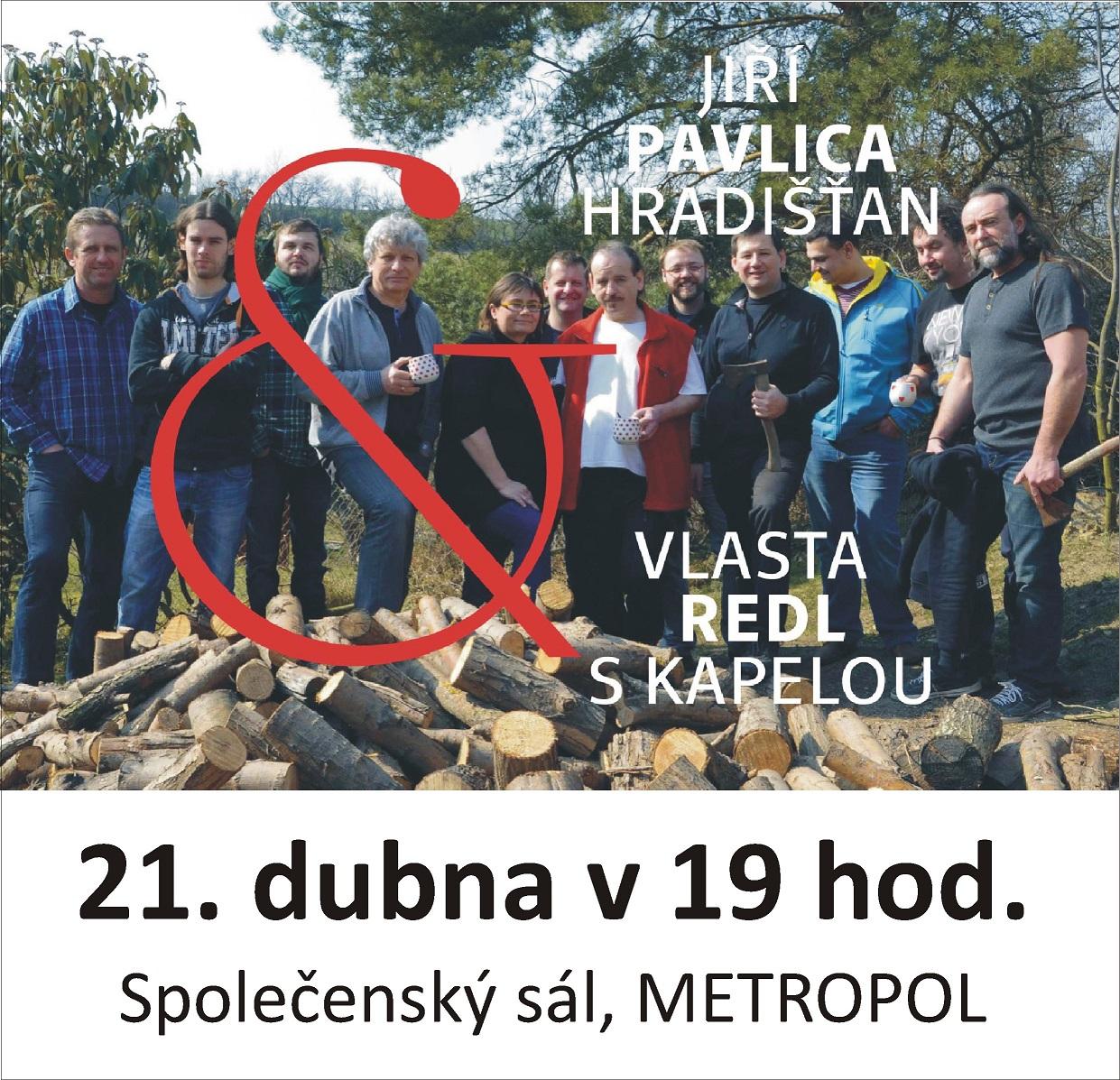 Jiří Pavlica & Hradišťan & Vlasta Redl s kapelou České Budějovice