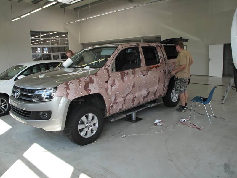 Částečný polep auta-ochrana laku, karoserie vozidla folií