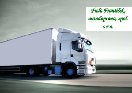 Vnitrostátní i mezinárodní nákladní přeprava s využitím vlastních kamionů