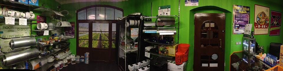 Pěstitelské potřeby, osvětlení i zavlažování, Original Growshop
