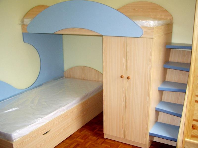 Bytový, dýhovaný nábytek na zakázku-návrhy obýváku, dětského pokoje, ložnice
