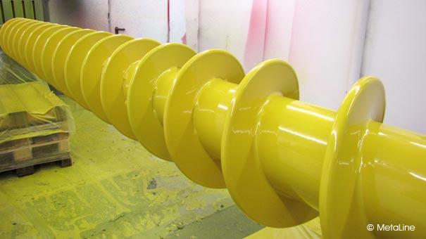 Stříkání, poplastování kovů polyuretanem-ochrana dílů proti korozi, poškrábání, chemickým vlivům