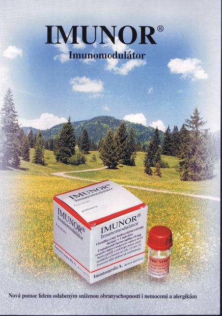 Výroba léku Imunor