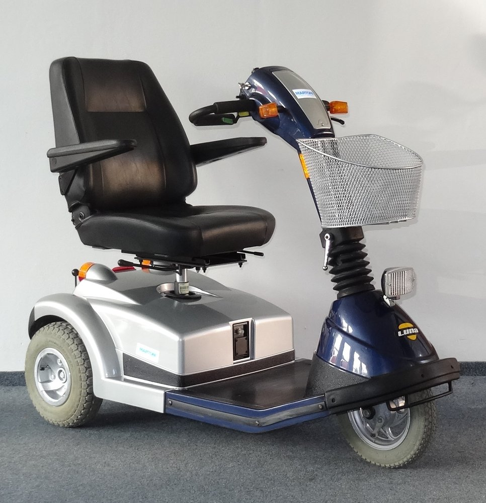 Tříkolové, elektrické skútry pro seniory, invalidy, handicapované osoby-prodej i servis