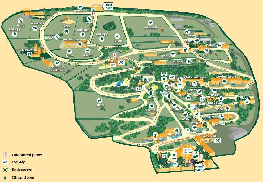 Zoologická zahrada Ústí nad Labem - navštivte zoo ve svém volném čase