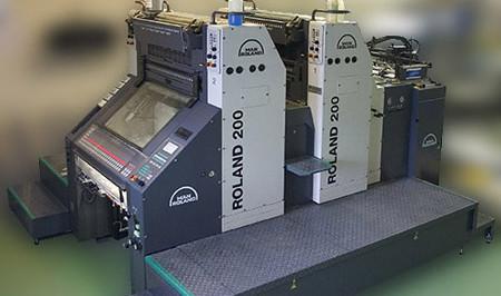 tiskařský stroj MAN Roland 202
